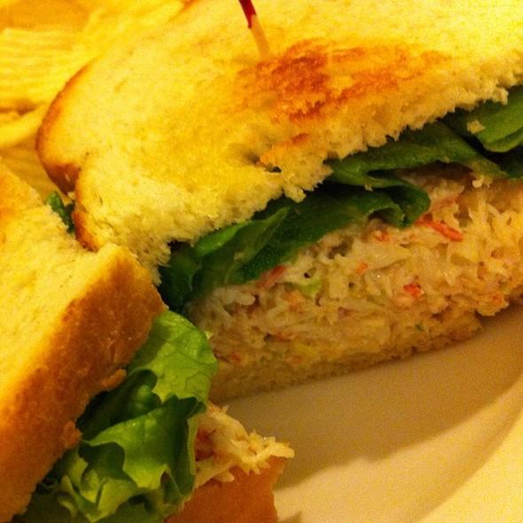 Alaskan Snow Crab Salad Sandwich @ Fentons Creamery