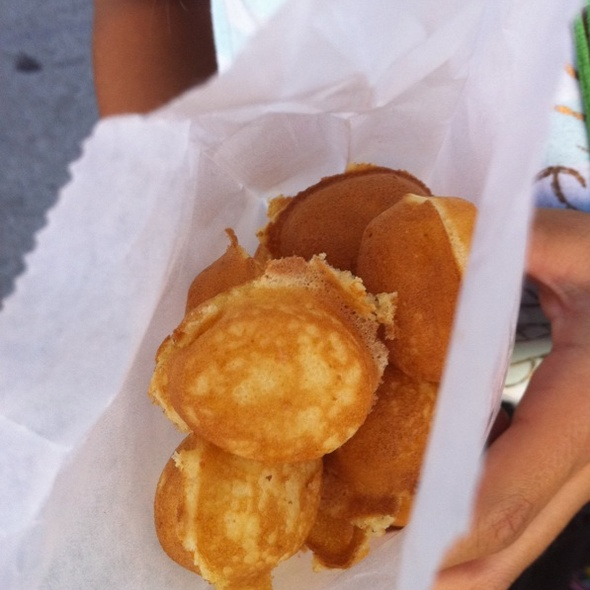 Hot Mini Cakes @ Street Vendor; Canal Street NYC