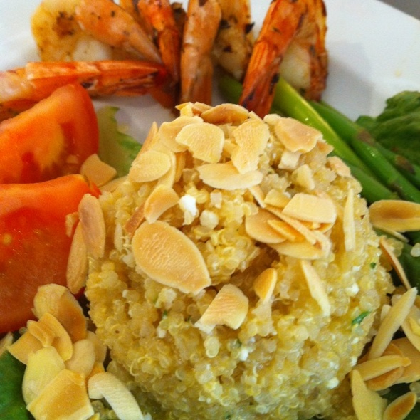Shrimp and Quinoa Salad @ Mariposa at Neiman Marcus