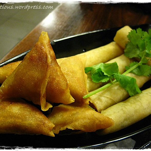 Spring Rolls And Dumplings @ Coconut House Cafe (Chicken Rice & Malaysian Food Place)