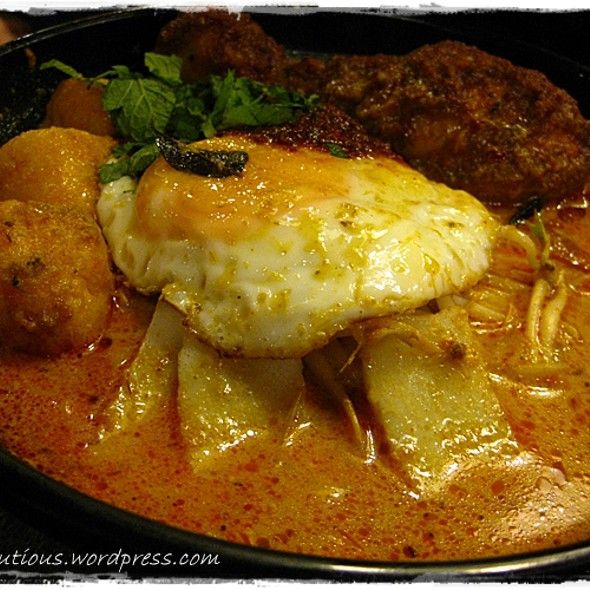 Ayam Laksa @ Coconut House Cafe (Chicken Rice & Malaysian Food Place)