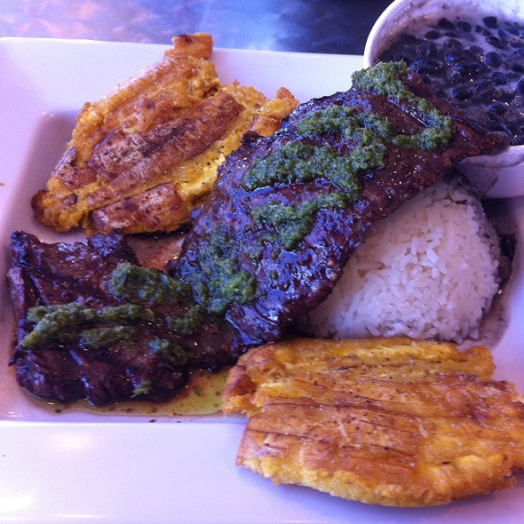 Grilled Churrasco Steak @ Jimmy'z Kitchen