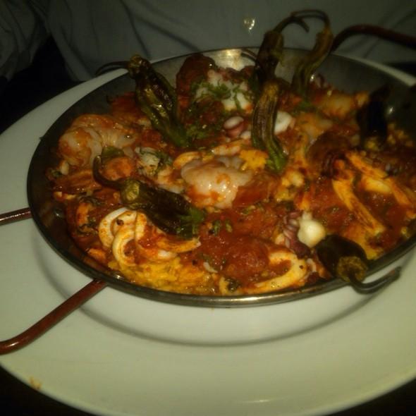 Seafood Paella @ Tamari Inc