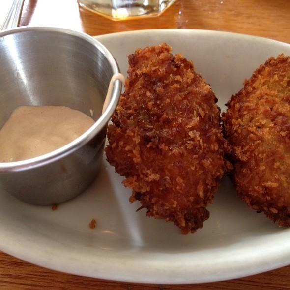 Coconut Fried Oysters - Cru Cafe, Charleston, SC