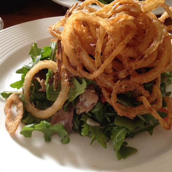 Duck Confit Arugula Salad - Cru Cafe, Charleston, SC