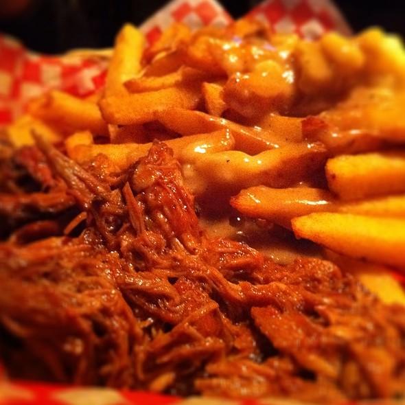 BBQ Pulled Pork Poutine - Lou Dawgs BBQ, Toronto, ON