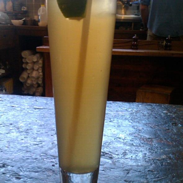 Lemongrass and Ginger Ice Tea @ Monk Bodhi Dharma