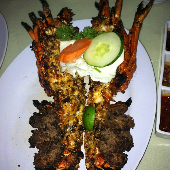 Lobster @ Menega Cafe Fresh Grilled Seafood