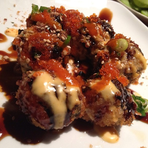 Fire Cracker Balls @ domo sushi