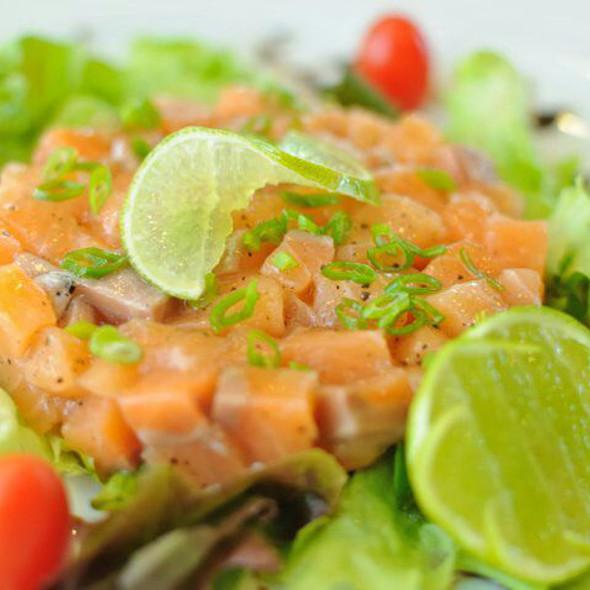 Salmon Tartar Salad @ Amigos Restaurant