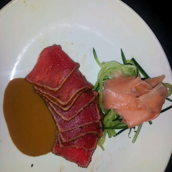 Seared Rare Ahi Tuna - Sullivan's Steakhouse - Indianapolis, Indianapolis, IN