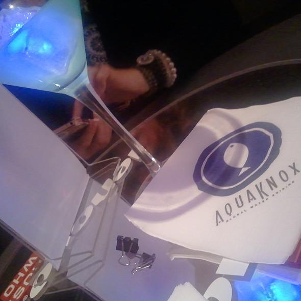 Cocktail - Aquaknox, Las Vegas, NV