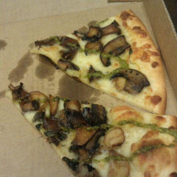 Kennet Square Mushroom Pizza @ Di Bruno Bros