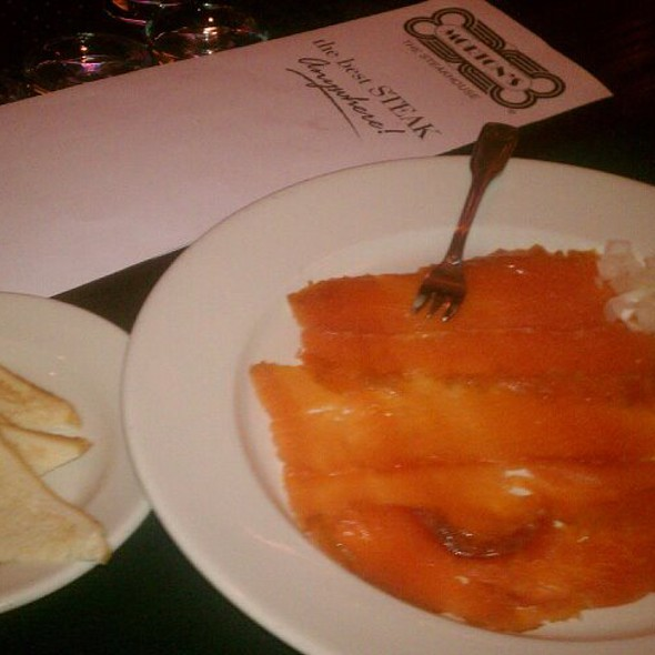 Atlantic Salmon Plate @ Morton's The Steakhouse - Miami Beach