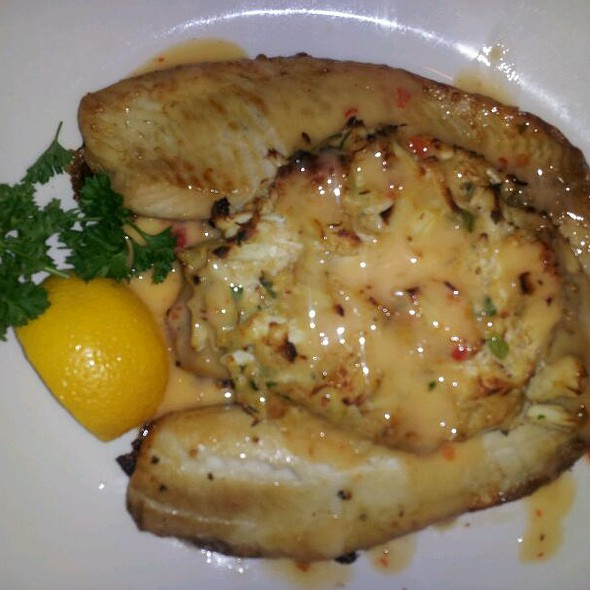 Crab Encrusted Hawaiian Sunfish - Sullivan's Steakhouse - Indianapolis, Indianapolis, IN