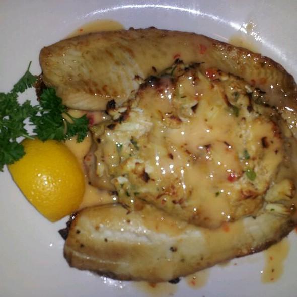 Crab Encrusted Hawaiian Sunfish