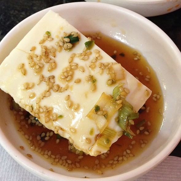tofu appetizer @ So Yong Dong Tofu House