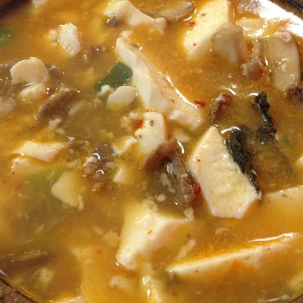 Beef Soft Tofu Soup @ So Yong Dong Tofu House