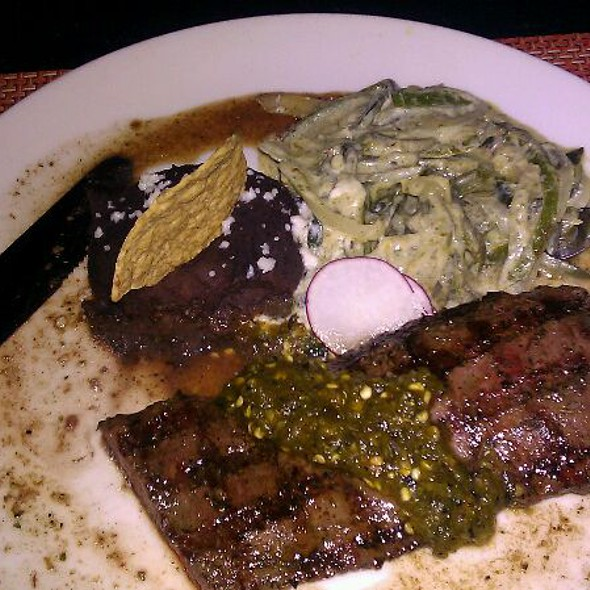 carne asada @ Zocalo Restaurant