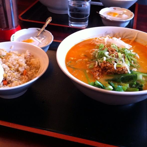 タンタン麺セット @ 栄華楼 本店
