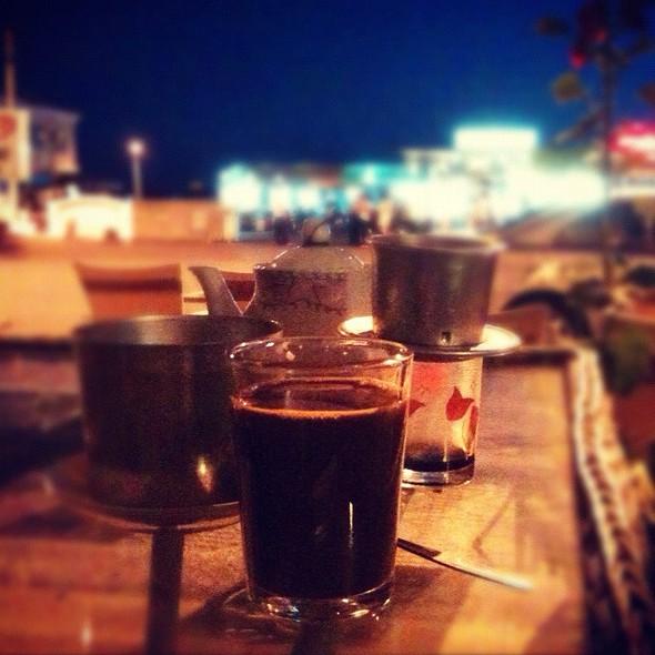 Roadside Vietnamese Coffee