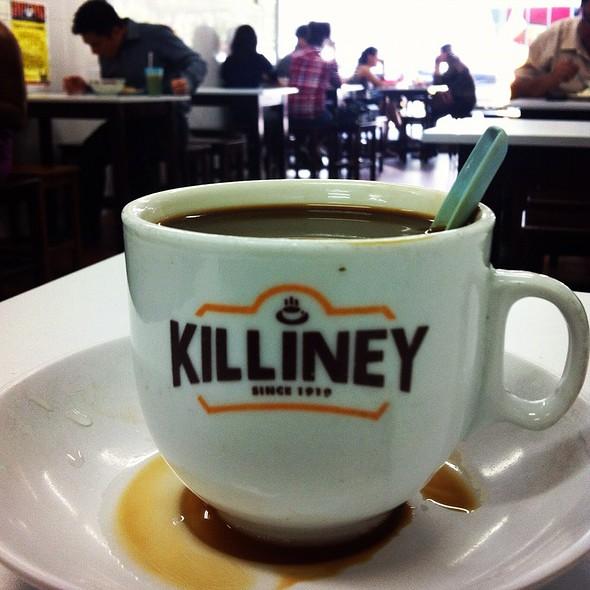 Coffee With Condensed Milk @ Killiney Kopitiam