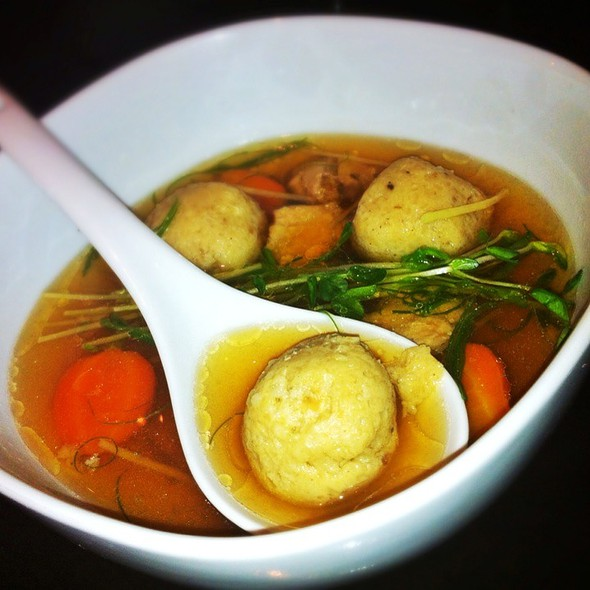 Shanghai Matzo Ball Soup