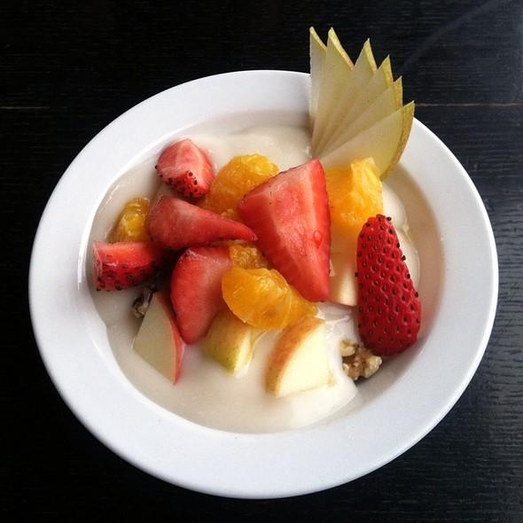 Granola With Fruit And Coconut Milk Yogurt @ Radish