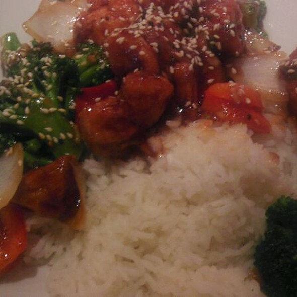 Sesame chicken @ P.F. Chang's China Bistro