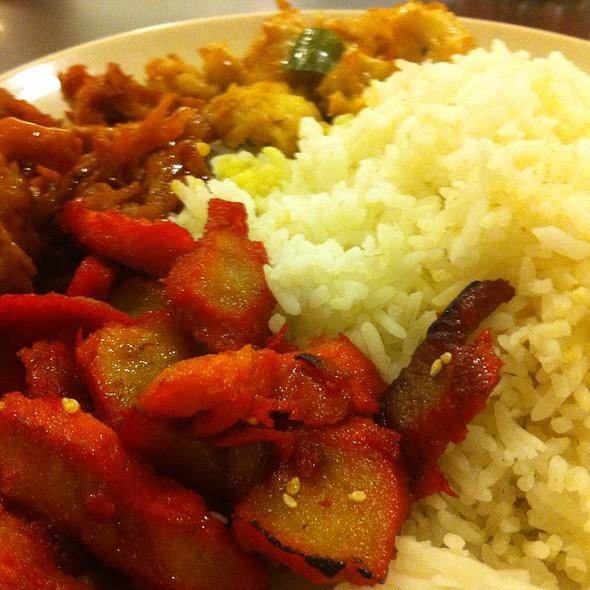 Vegetarian Mix Rice @ Lemon Food Court