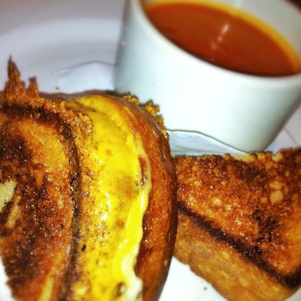 Grilled Three Cheese Sandwich @ Westside Tavern