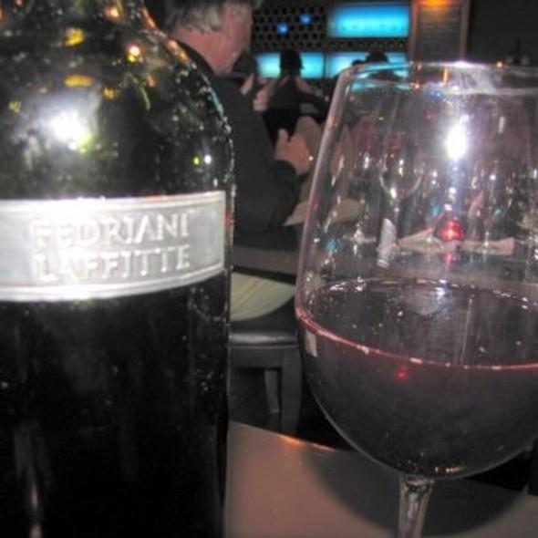 """""""Fedriani Lafitte"""" Red Wine - Café Bleu, San Diego, CA"""