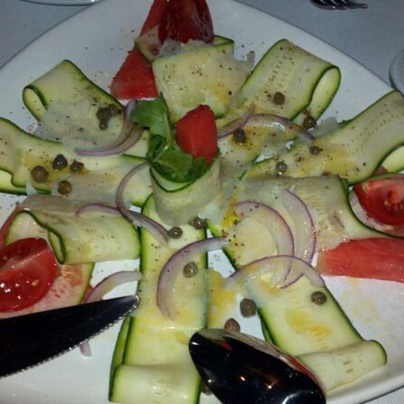 Zucchini carpaccio - EVO Italian, Tequesta, FL