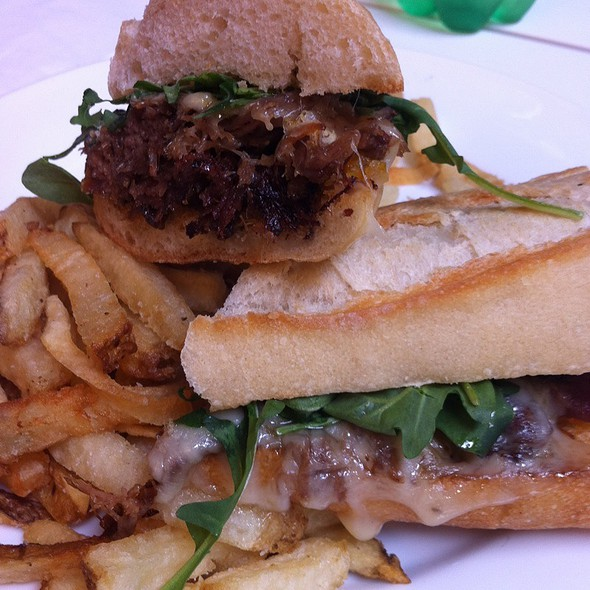 Crispy Duck Confit Sandwich @ Little Chef Counter