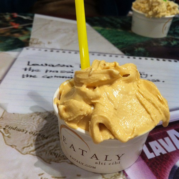 Salted Caramel Gelato @ Eataly