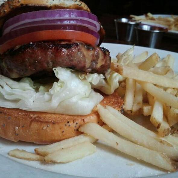 Hamburger - Hi-Life, Seattle, WA