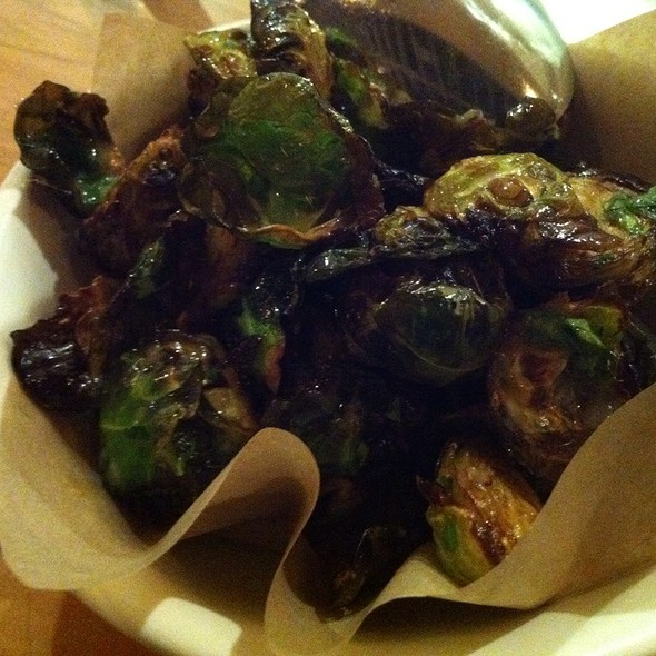 Fried Brussel Sprouts @ Piccino