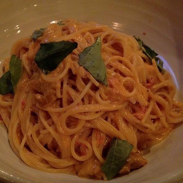 Uni And Tomato Cream Spaghetti @ Trattoria Nakamura-Ya
