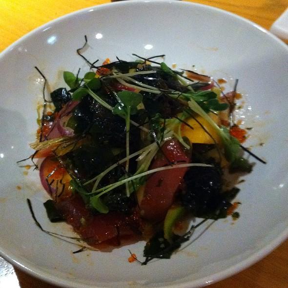 Hawaiian Ahi Poke Appetizer @ Sushi Kazu