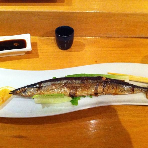 Grilled Fish @ Sushi Kazu