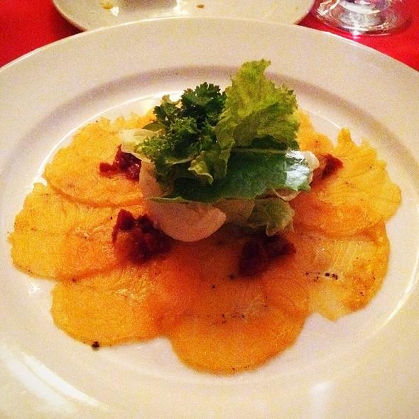 Salmon Carpaccio Salad @ Waterfront Manila Pavilion Hotel & Casino