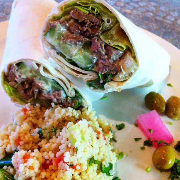 Lamb Shawerma @ Baladi Mediterranean Cafe