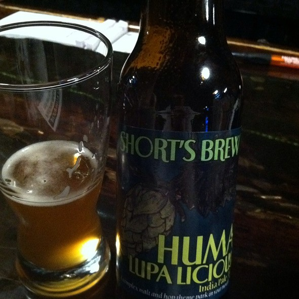 Short's Brewery Huma Lupa Licious IPA @ Falling Rock Tap House