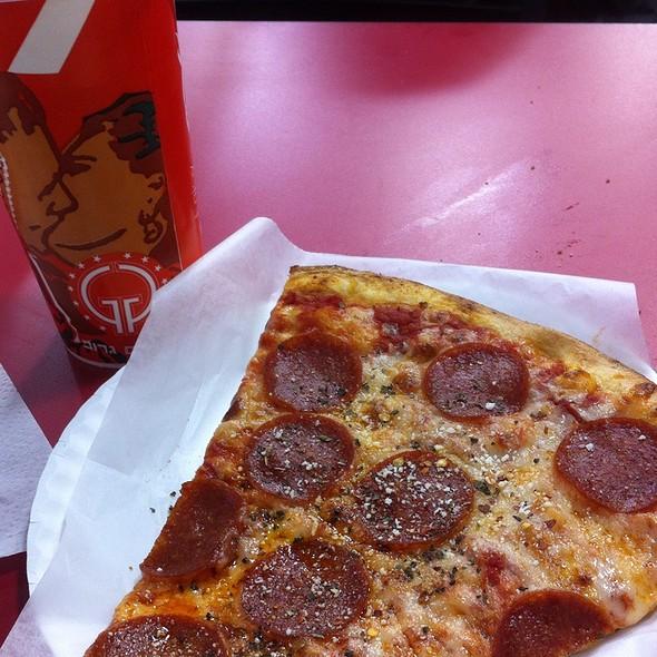 Pepperoni Pizza @ Basile's Pizza