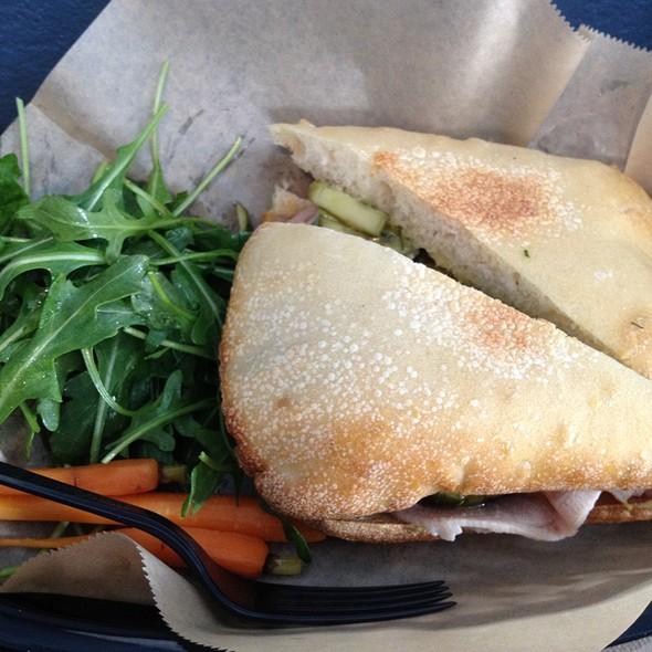 Suckling Pig Sandwich @ Sweet Woodruff