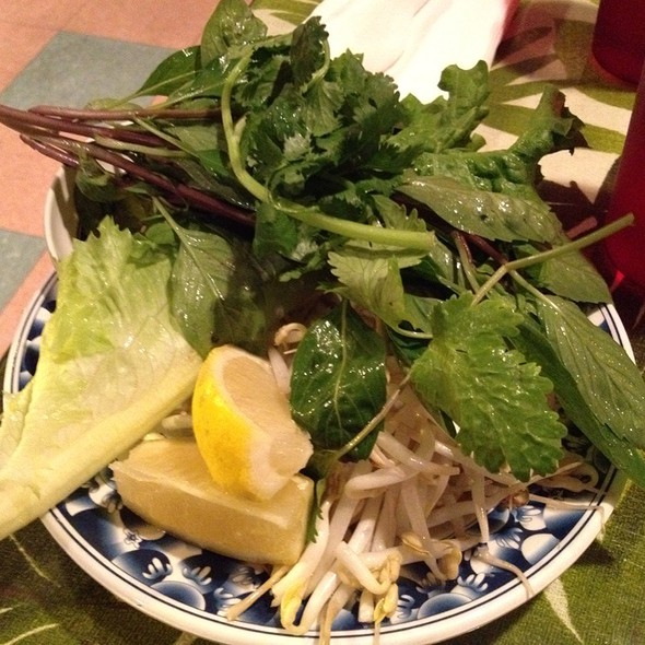Side Veggies For Pho @ Ben Thanh