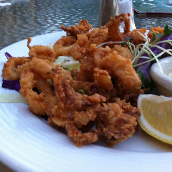 Fried Calamari - Naupaka Terrace, Lihue, HI