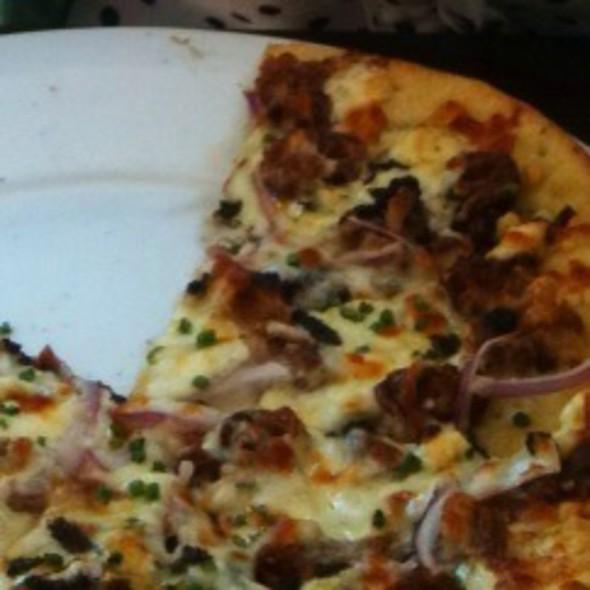 The Black and Bleu Pizza @ Second Bar + Kitchen