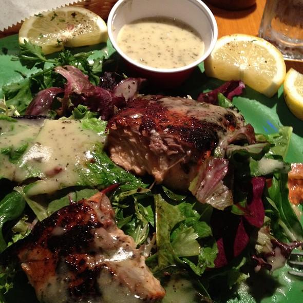 Salmon With Avacado Dressing @ Whole Enchilada