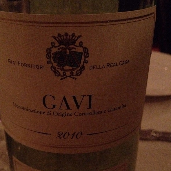 Gavi di Gavi - Siroc Restaurant, Washington, DC